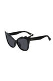 Elvira Black Bat sunglasses