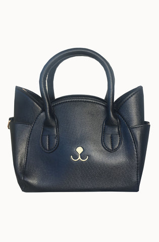 Pretty kitty black Handbag