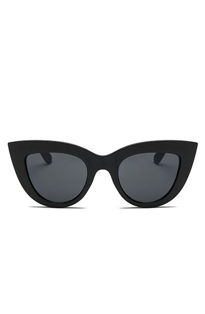 Black retro cats eye sunglasses - Bonsai Kitten retro clothing, pin up clothing