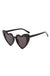 Black Lolita heart sunglasses