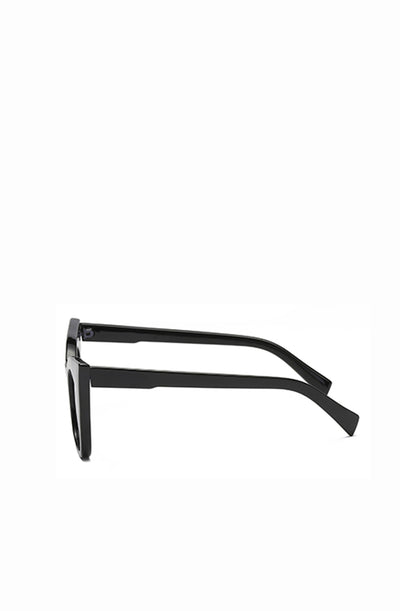 Black Retro Catseye Sunglasses
