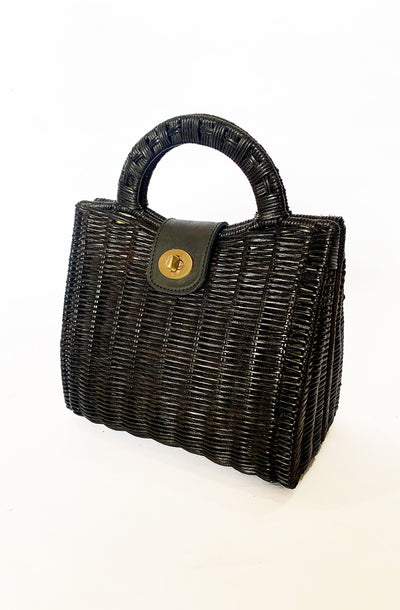 Black Tea Party Handbag