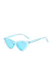 Blue Frenchie Retro Sunglasses