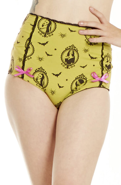 Green Horror Vixen Underwear