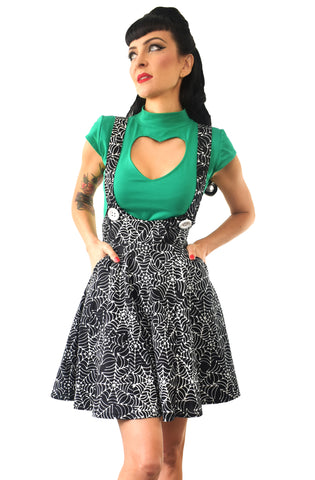 Black Widow Skater pinafore