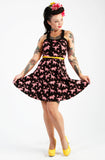 Black Dinosaur skater dress
