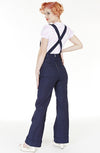 1940's Denim Dungarees - Bonsai Kitten retro clothing, pin up clothing