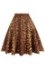 Leopard Swing Skirt Curvy
