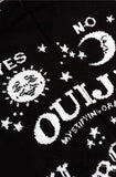 Ouija board over the knee socks - Bonsai Kitten retro clothing
