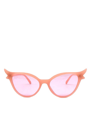 Pink Cats eye sunglasses - Bonsai Kitten retro clothing