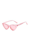 Pink Frenchie Retro Sunglasses