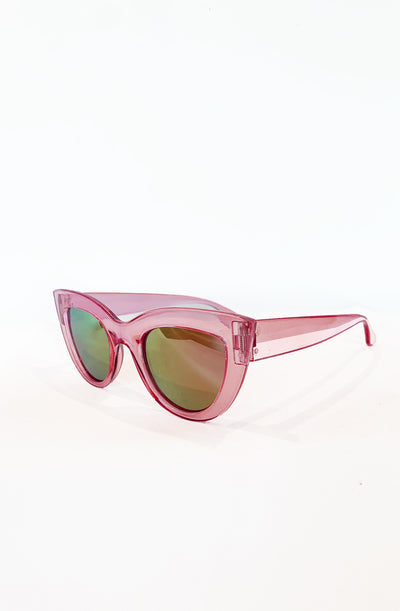 Pink Marilyn Catseye Sunglasses