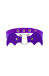 Purple Bat Choker