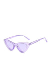 Purple Frenchie Retro Sunglasses