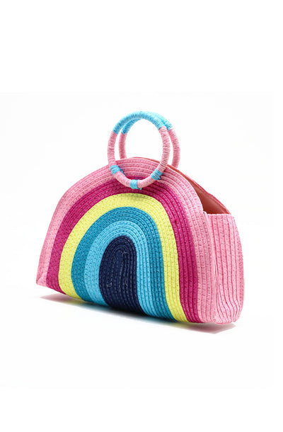 Rainbow Clutch Bag