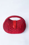 Retro Red Clutch Handbag
