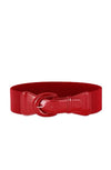 Red cinch belt