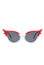 Red vintage catseye sunglasses