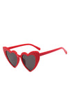 Red Lolita heart sunglasses - Bonsai Kitten retro clothing