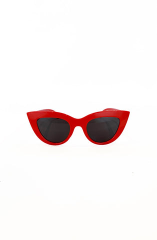 Red Marilyn Catseye Sunglasses