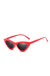Red Frenchie Retro Sunglasses