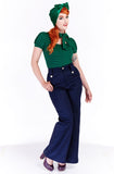 Hepburn swing pants - Bonsai Kitten retro clothing, pin up clothing