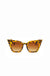 Tortoise Shell Retro Cat Eye Sunglasses