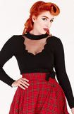 Venom mesh top - Bonsai Kitten retro clothing
