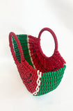 Watermelon clutch handbag