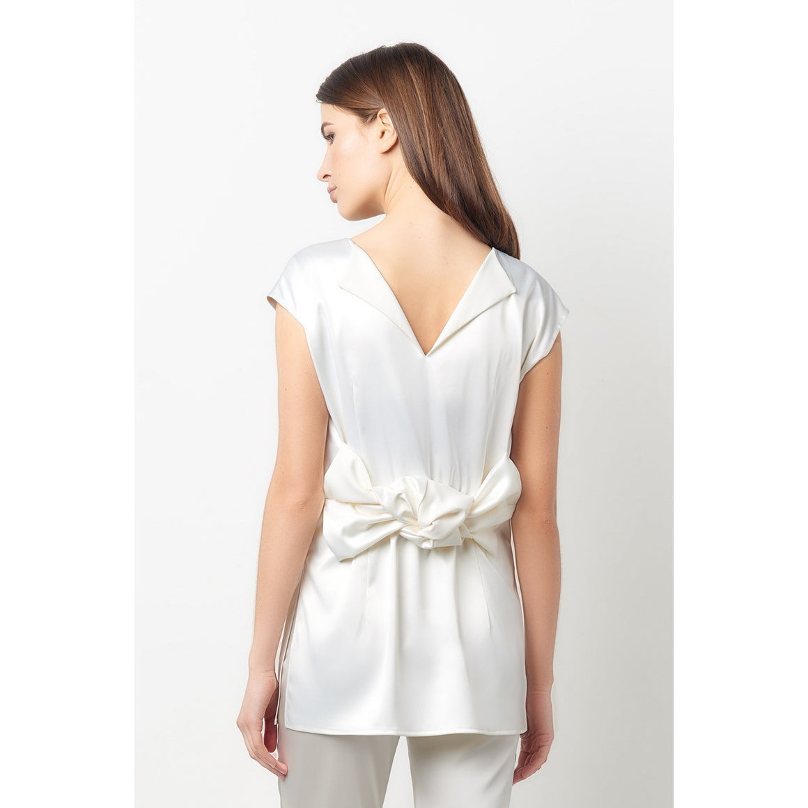 Lana White Reversible Knot Top