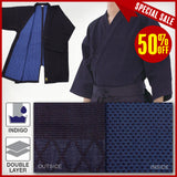 Dx Double BACK SEAM Layered Kendo Gi_Size#5
