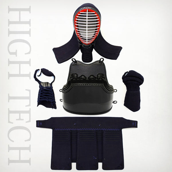 Instock 6mm Machine-stitched High Tech Kendo Bogu Set