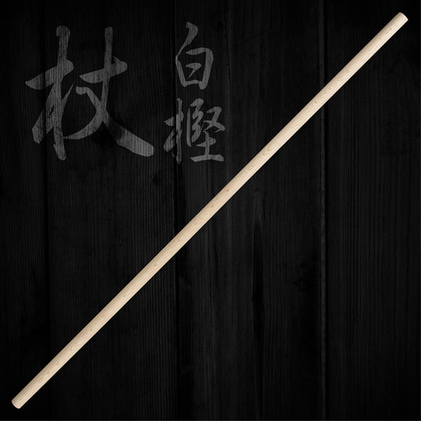 Japanese Aikido White Oak Jo (1 Sun)