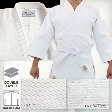 MINAMOTO Double Layered Aikido Gi [DX]