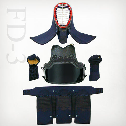 Custom FD-3mm Machine-stitched Kendo Bogu Set