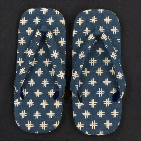 Japanese Setta Sandals (Igeta Pattern)