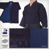 Deluxe Indigo-Dyed Double Layered Kendo Gi