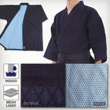 Max Dry Sweat-Less Indigo-Dyed Single Layered Kendo Gi