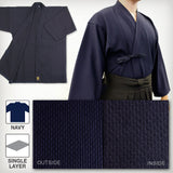 Standard Lightweight Single Layered Kendo Gi - Navy