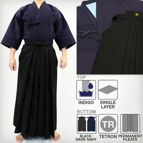 Max Dry Sweat-Less Kendo Gi & DX Tetron Hakama Set