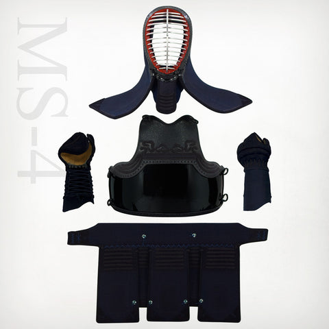 Custom MS-4mm Machine-stitched Kendo Bogu Set