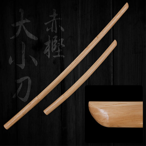 Japanese Red Oak Bokuto Set