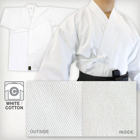 White Cotton Basic Iaido Gi