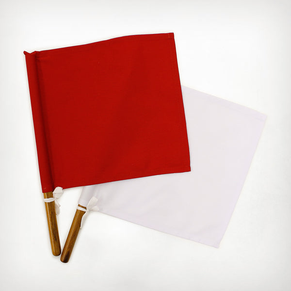 Referee Flag [Red & White]