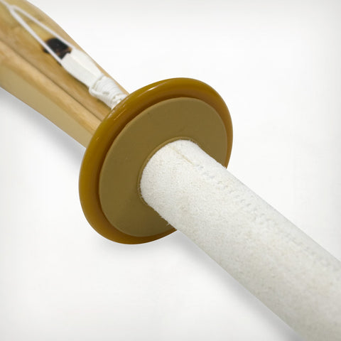Shinai Rubber Tsubadome And Plastic Tsuba Set