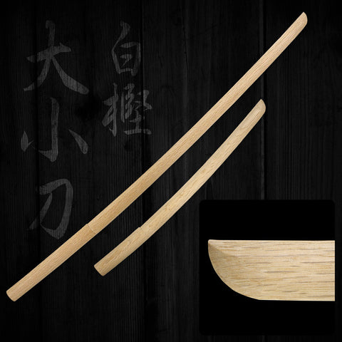Japanese White Oak Bokuto Set