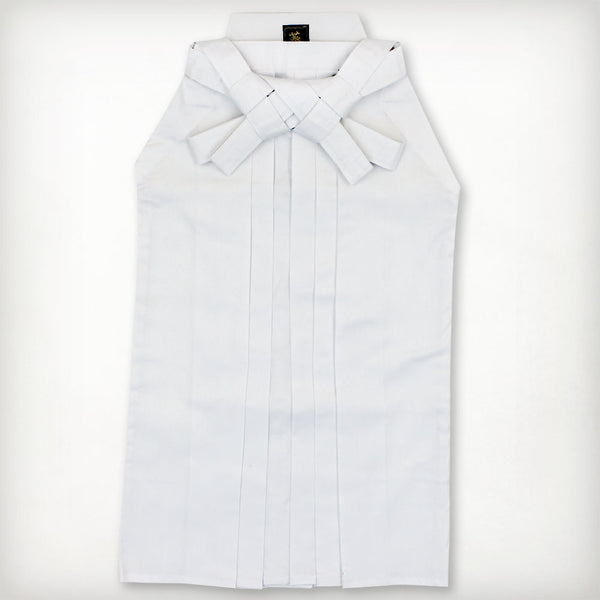 TC Kendo Hakama - White (Permanent Pleats)
