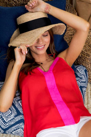 Cherry Red Fuchsia Cami