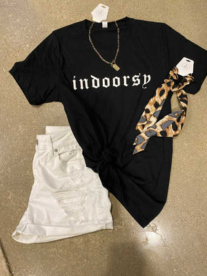 Indoorsy Graphic Tee - Jade Creek Boutique