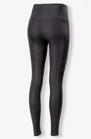 High Waist Snakeskin Legging - Jade Creek Boutique